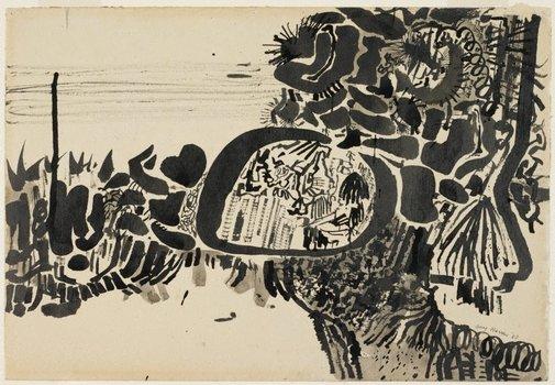An image of Mungo brush by Guy Warren