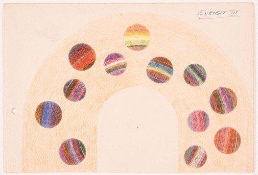 An image of Rainbow scale (Exhibit III) by Roy de Maistre