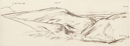 An image of Pentland Hills, Midlothian by John D. Moore