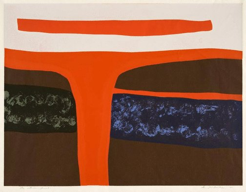 An image of Untitled screen print no. 12 by Ian McNeilage