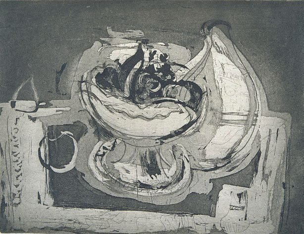 An image of Bowl and fruit