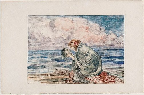 An image of (Orpheus) by Rupert Bunny
