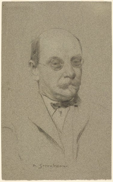 An image of Portrait of A.S. Hartrick by Arthur Streeton