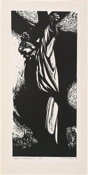 An image of Albert Namatjira by Noel Counihan