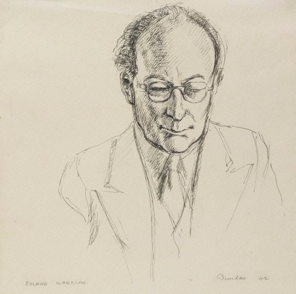 An image of Portrait of Roland Wakelin
