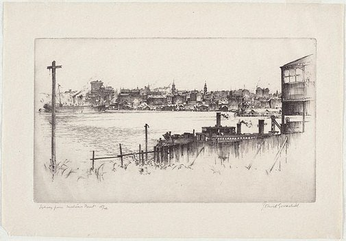 An image of Sydney from Milson's Point by John Goodchild