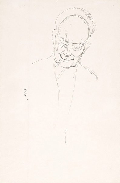 An image of Study for 'Portrait of Roland Wakelin' by Douglas Dundas