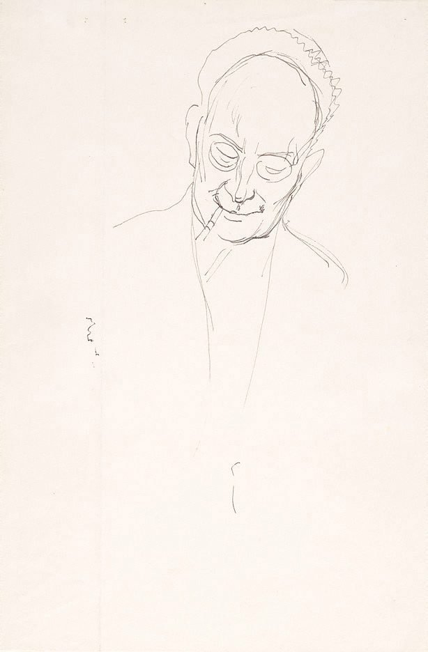 An image of Study for 'Portrait of Roland Wakelin'