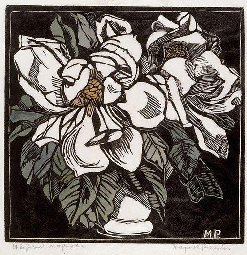 An image of Magnolia by Margaret Preston