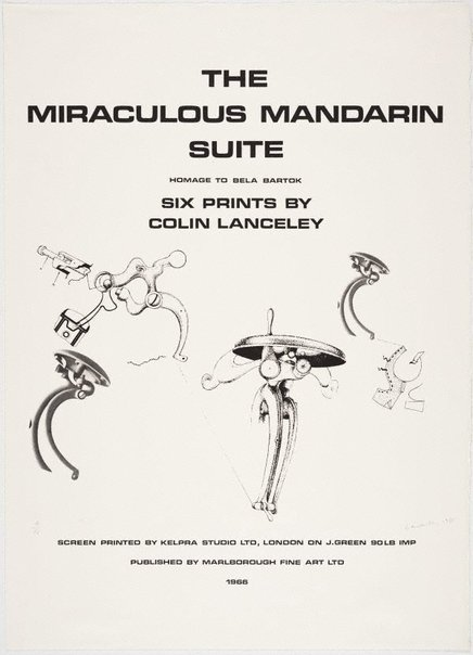 An image of Title print by Colin Lanceley