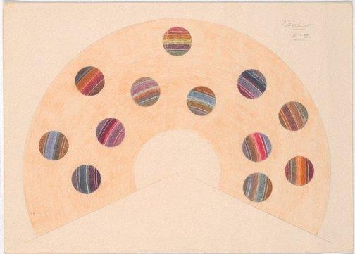 An image of Rainbow scale E - B by Roy de Maistre