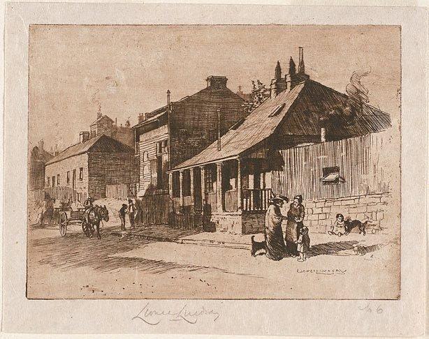 An image of Non-com's quarters, Kent Street