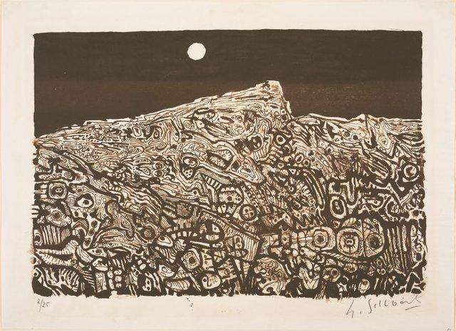 Landscape, (1963) by Udo Sellbach