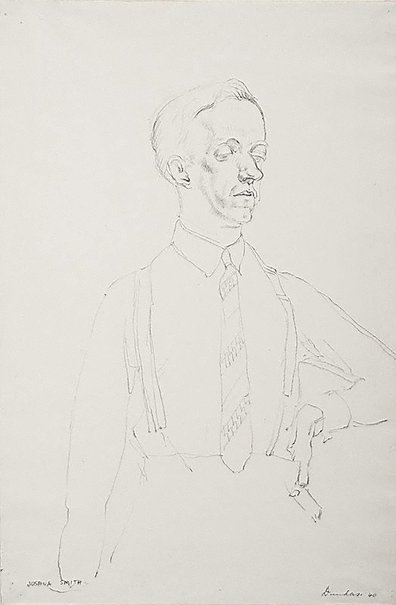 An image of Portrait of Joshua Smith by Douglas Dundas