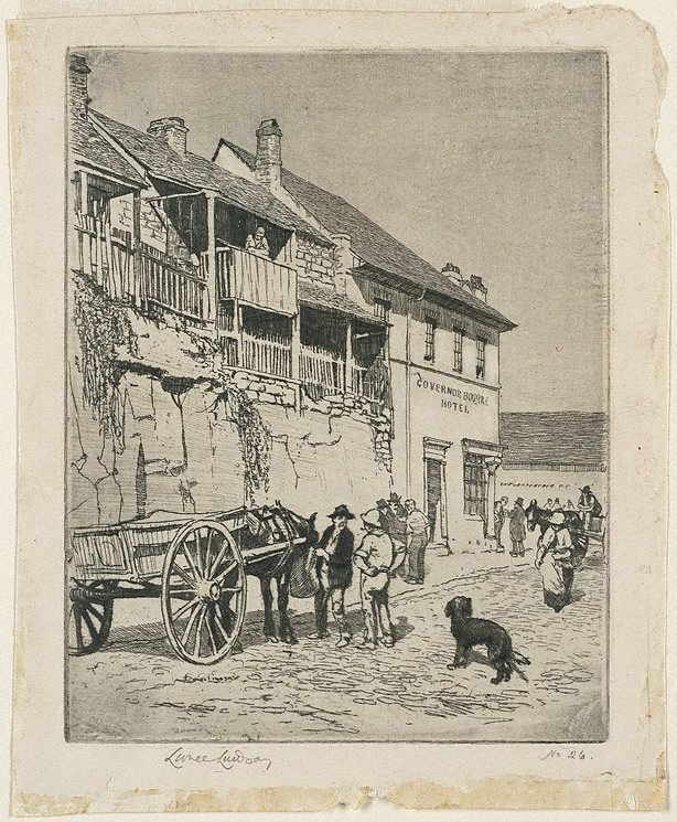An image of The Governor Bourke Hotel, Sussex Street, Sydney