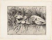 Nude in a cornfield, 1962 by Arthur Boyd