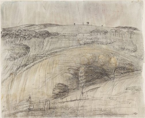 An image of Landscape at Rockley by Lloyd Rees