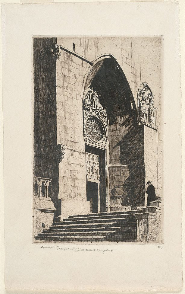 An image of A doorway, Burgos Cathedral