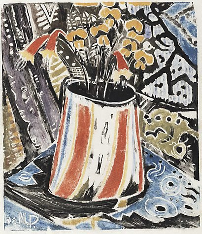 An image of The bark bag by Margaret Preston