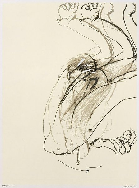 An image of Swinging monkey 1: no. 1 by Brett Whiteley