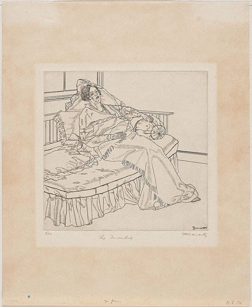 An image of The invalid by Fred Coventry