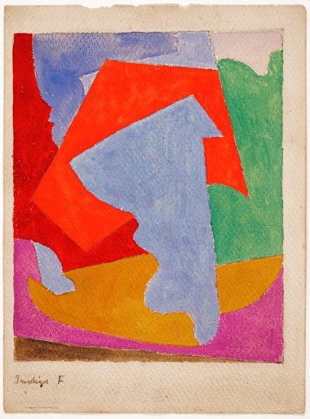 An image of Indigo F by Roy de Maistre