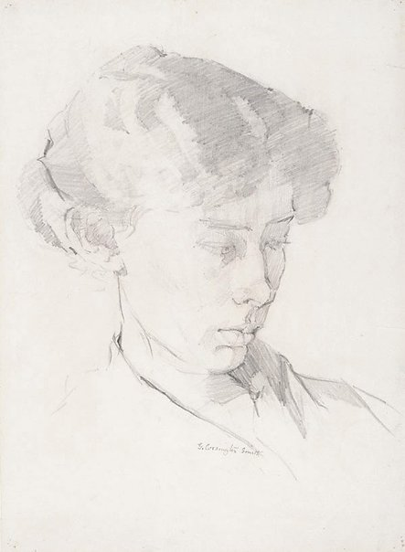 An image of Margaret Smith, the artist's sister by Grace Cossington Smith