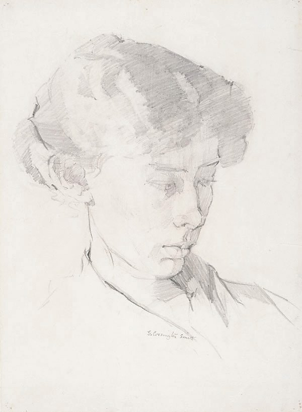 An image of Margaret Smith, the artist's sister
