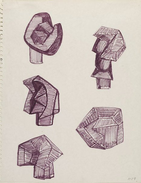 An image of Drawing by Robert Klippel