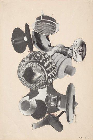 AGNSW collection Robert Klippel Drawing (Jul 1960) DA64.1970