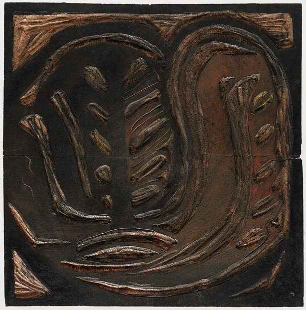 An image of Woodblock for '(Aboriginal Glyph)'
