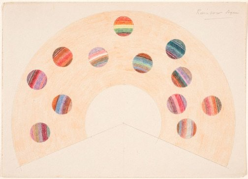 An image of Rainbow scale (Rainbow again) by Roy de Maistre