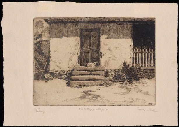 An image of Old cottage, Hartley, N.S.W.