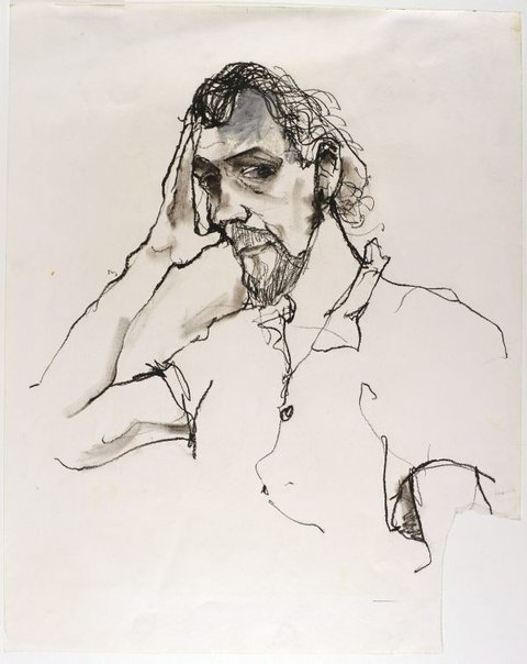 An image of Portrait study by Andrew J Sibley