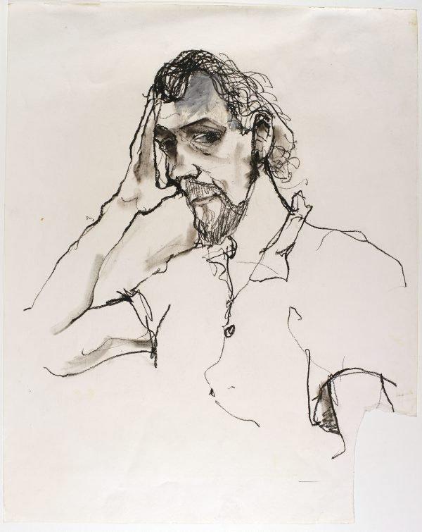 An image of Portrait study
