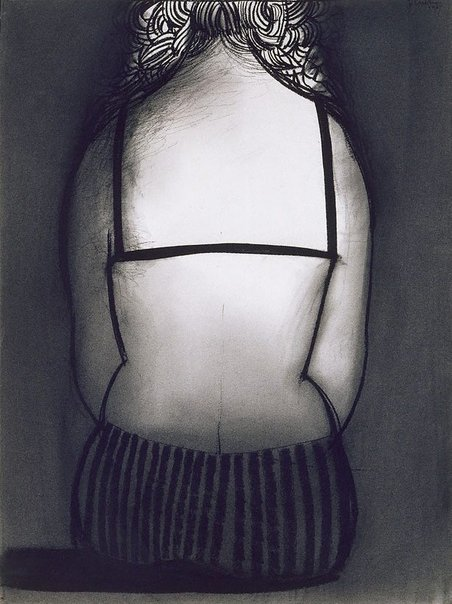 An image of Bather I by Charles Blackman