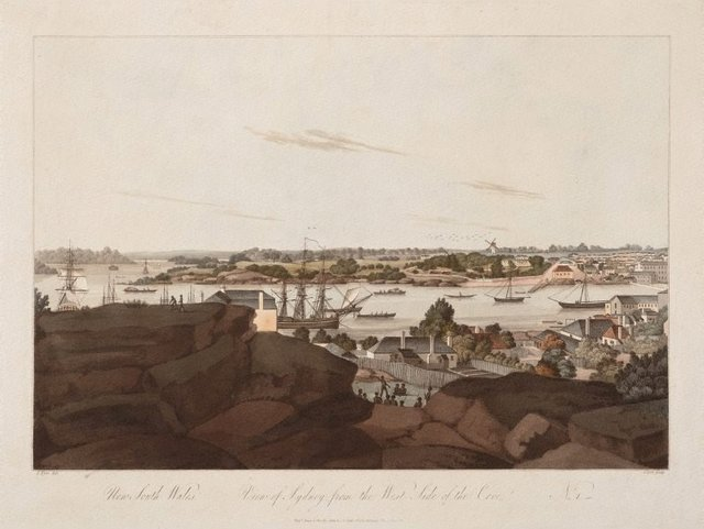 An image of View of Sydney from the west side of the cove, no. 1