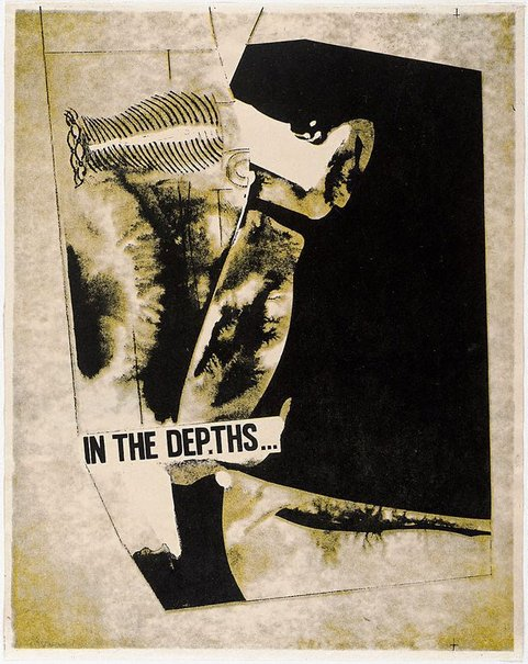 An image of In the depths by Michael Nicholson