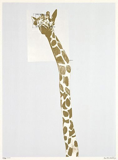 An image of Giraffe: no. 5 by Brett Whiteley