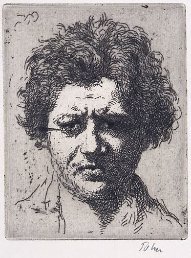 An image of Portrait of Jacob Epstein