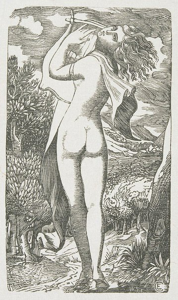 An image of The Bacchante by Welby Sherman, after Edward Calvert
