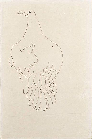An image of Eagle by Henri Gaudier-Brzeska