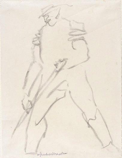 An image of Workman by Henri Gaudier-Brzeska