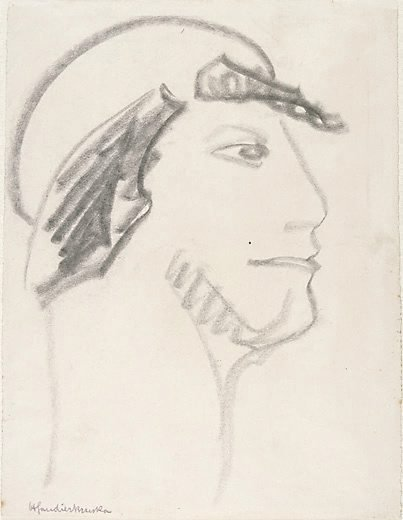 An image of Profile head by Henri Gaudier-Brzeska