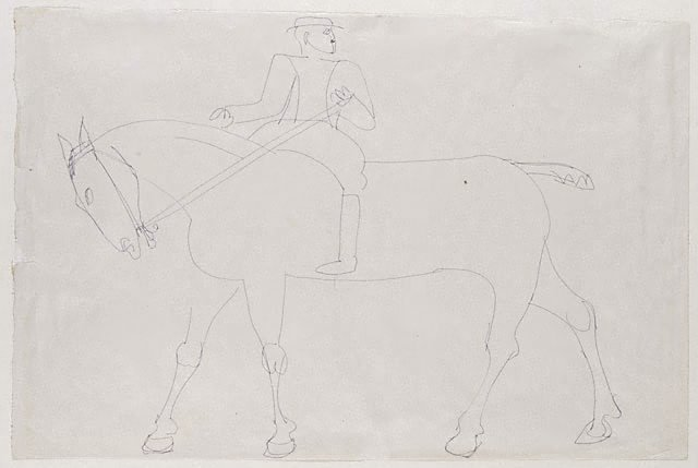 An image of Horse and rider