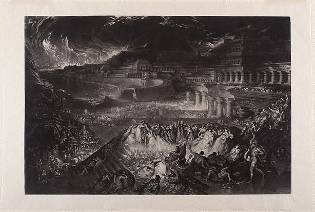 An image of The fall of Nineveh
