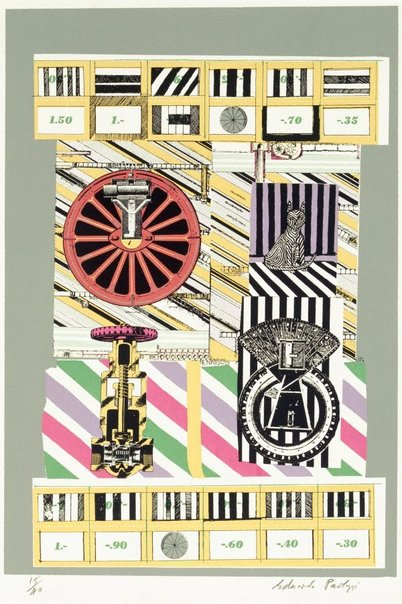 An image of Four stills from the History of nothing by Sir Eduardo Paolozzi