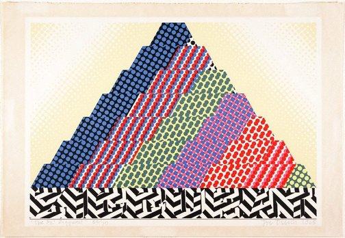 """An image of The ½"""" ziggurat by Joe Tilson"""