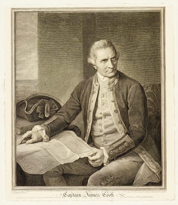 An image of Portrait of Captain James Cook