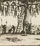 Alternate image of The hanging by Jacques Callot